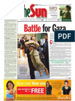 thesun 2009-01-06 page01 battle for gaza