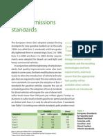 Vehicle Emissions Standards