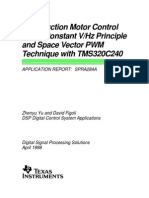 Ac Induction Motor Control and Space Vector Pwm