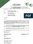 Career Orientation Letter