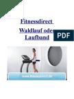 Fitnessdirect Waldlauf Oder Laufband