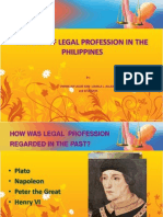 1 - History of Legal Profession