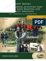 Understanding Activities That Compete With Hunting and Target Shooting