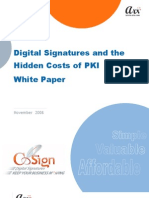 Digital Signatures and the Hidden Costs of PKI