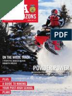 Winter 2011, FFA New Horizons