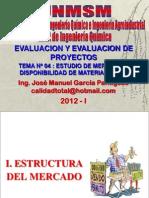 ELABORACION Y EVALUACION DE PROYECTOS  - CLASE Nº 04