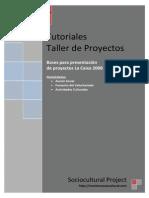 Bases Para Presentación de Proyectos La Caixa 2008