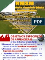 ELABORACION Y EVALUACION DE PROYECTOS  - CLASE Nº 08