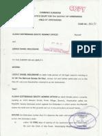 Vaal Property Hijacking/ LD MALOISANE (VS) AG SEKETE