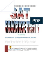 33052124 SAT Math Practice Test 1
