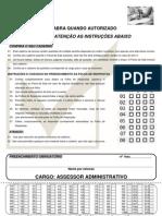 Prova Assessor Prefeitura Municipal de santa Cruz do Sul - RS