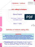 Network Coding Ppt
