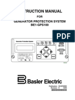 Basler GPS100 Relay Manual