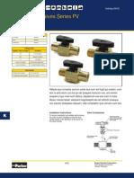 PV607-2 Parker Plug Valve