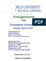 Govt. Accounting