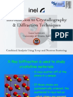 Introduction Crystallography