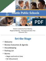 September 2011 DLT Powerpoint Principal Evaluation Tool