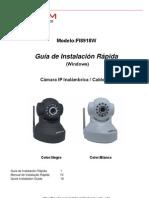 Camara IP FI8918W Guia de Instalacion Rapida Para Windows