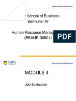 Dc1beModule 4 Job Evaluation
