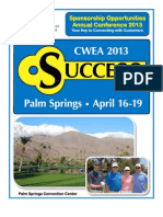 CWEA AC13 Sponsorships