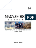 Magyarorszag Tortenete 14 Forradalom Es Szabadsagharc 1848 1849
