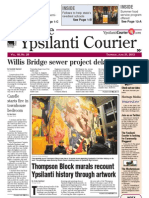 Ypsilanti Courier front page June 21