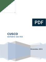 Resumen Ejecutiva Reporte Cusco