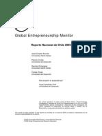 Global Entrepreneurship Monitor GEM Chile 2005