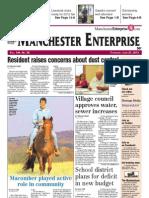 Manchester Enterprise front page June 21