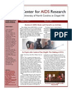 May 2012 CFAR Newsletter - Stories of AIDS