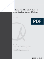 EDHEC Working Paper a Hedge Fund Investors Guide to Understanding Managed Futures F