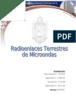 Radioenlaces Terrestres de Microondas