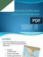 Limites Internacionales Para Cuencas en Guatemala