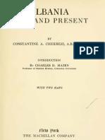 Albania past and present - Constantine Chekrezi [Kostandin Çekrezi] (1919)