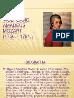 Wolfgang Amadeus Mozart Prezentacija