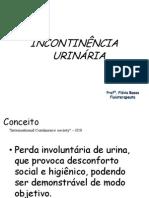 AULA INCONTINÊNCIA URINÁRIA