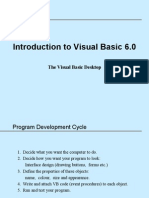 Session 1 - Introduction to Visual Basic 6.0