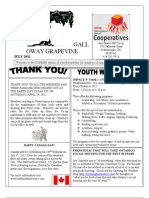 Galloway Grapevine Summer, 2012