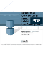 TabTimes Tablet Strategy- Aaron Tantleff- Foley & Lardner Presentation