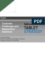 TabTimes Tablet Strategy- Jim Dempsey- Panasonic Presentation