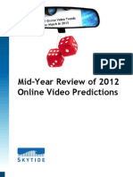 Mid-Year Review of 2012 Online Video Predictions
