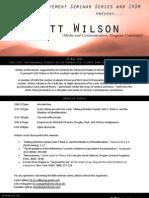 BiM Scott Wilson Programme