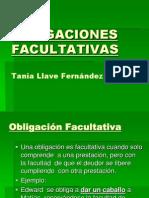 Obligaciones facultativas