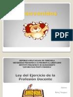 Presentacion-Ley Del Ejercicio de La Profesion Docente