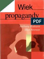 A. Pratkanis, E. Aronson - Wiek Propagandy