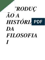 INTRODUÇÃO A HISTÓRIA DA FILOSOFIA I