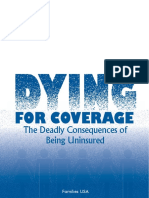 Dying for Coverage