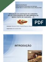 AVALIAÇÃO DA ACEITAÇÃO DO CARDÁPIO PELOS FUNCIONÁRIOS DE UMA EMPRESA DE MÉDIO PORTE DE CASCAVEL