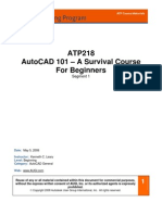 Autocad 101 Survival Course Beginners