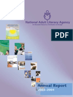 National Adult Literacy Agency Annual Report 2004